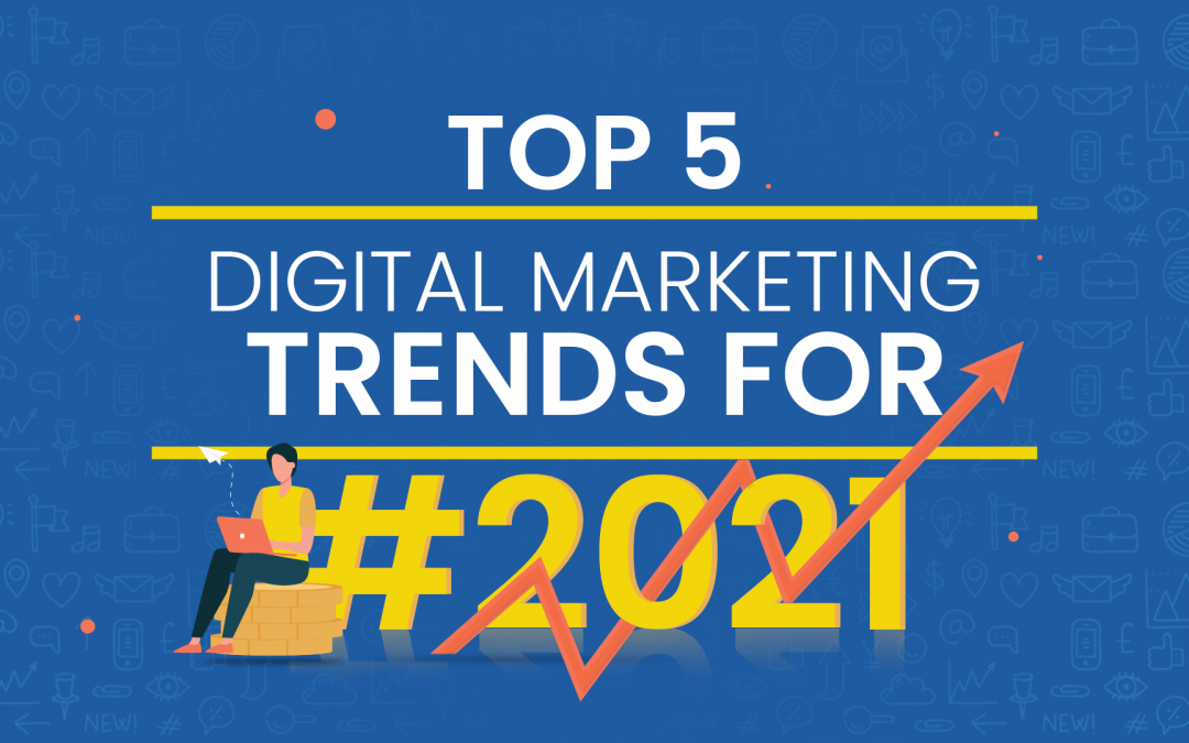 Top 5 digital marketing trends 2021