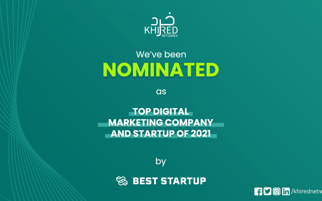 Khired Networks Has Been Nominated as a Top Digital Marketing Company in Pakistan by BestStartup.asia